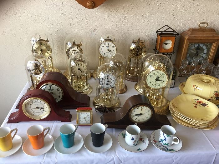 Anniversary & mantle clock collection