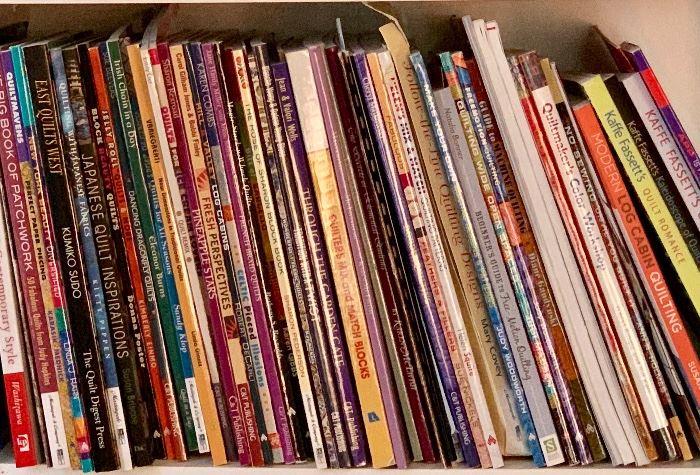Quilting books ($4/each)