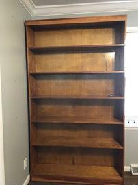 #6 Handmade bookcase w/6 shelves 49x11.5x85 $120.00