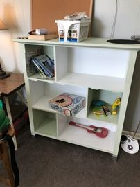 #15 Painted Cubby Cabinet 40x14x43 $45.00