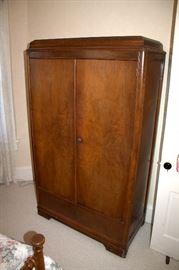 Vintage wardrobe cabinet