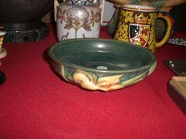 "Roseville art pottery ""Zephyr lily"" bowl"