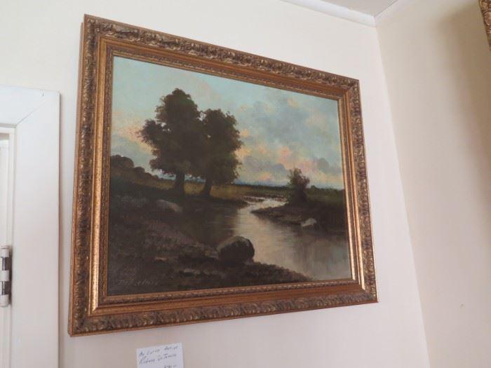 oil painting by Richard De TRreville