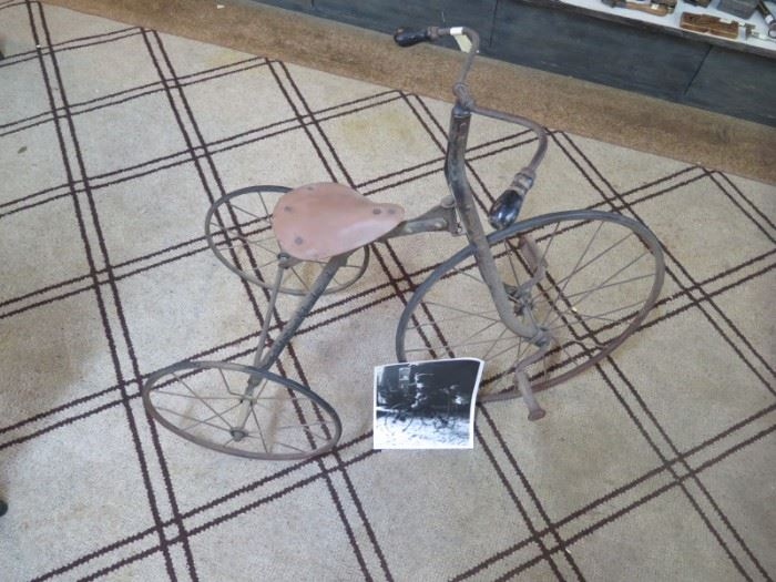 trike from late 1800 & pic