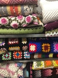 Granny Afghan collection