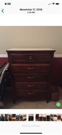 Chest of drawers $125