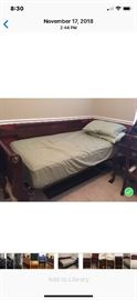 Daybed with trundle  brand new mattresses. $250
