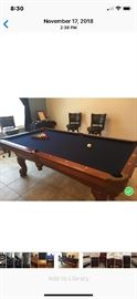 7'Pool Table new felt excellent condition $700