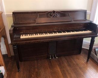 Cable upright piano....