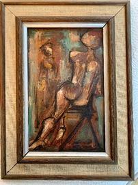 """Petite Figure Study"", Schweig"