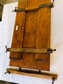 antique English Shirt Press