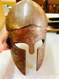 Metal Helmet age unknown