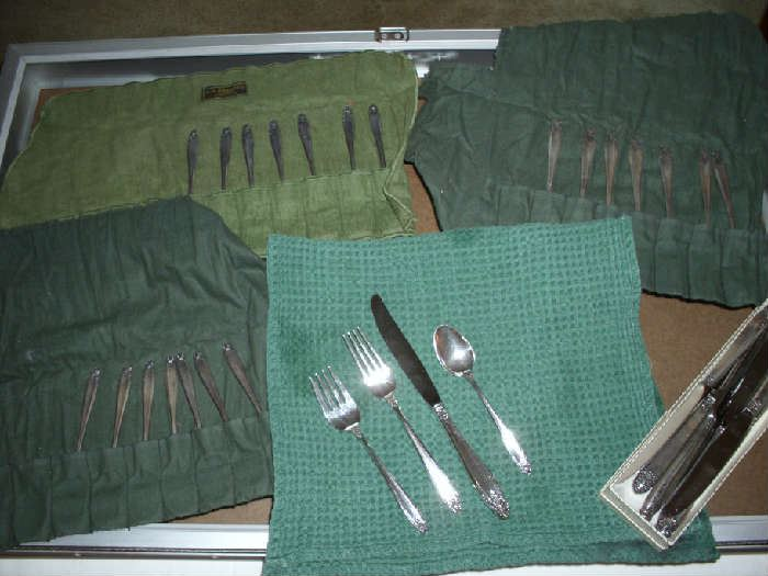 Sterling Silver service for 8