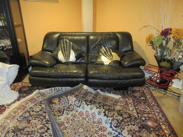 New Leather furniture rug not available for sale