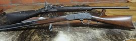 Antique Winchester and Springfield Carbine