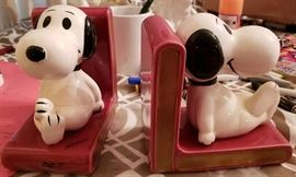 Snoopy Bookends 1966