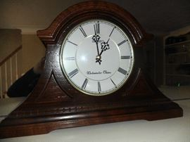 Seiko Westminister Chime mantle clock