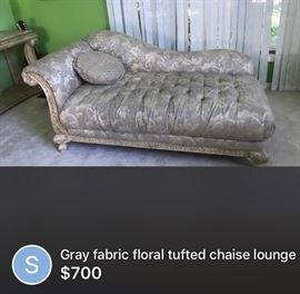 Royal fabric love seat$150:00