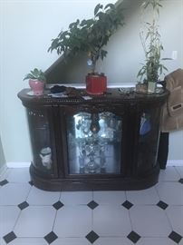 Solid wood front table$50:00
