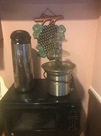 Chocolate fodo and milk warmer$35:00