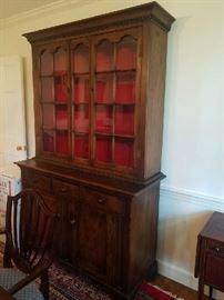 Beautiful  Pennsylvania Cabinet with glass doors