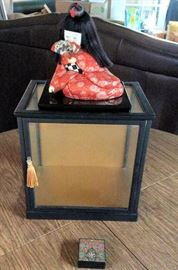 PAC002 Japanese Fabric Figurine Doll in Gozinta Box