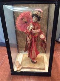 PAC005 Authentic Japanese Geisha Doll
