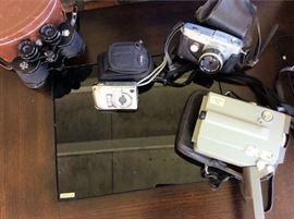PAC011 Vintage Nikon Fugi Minolta Cameras