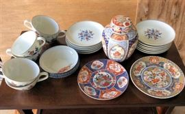 PAC012 Decorative Collectible Asian Dishes