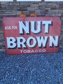 nut brown sign