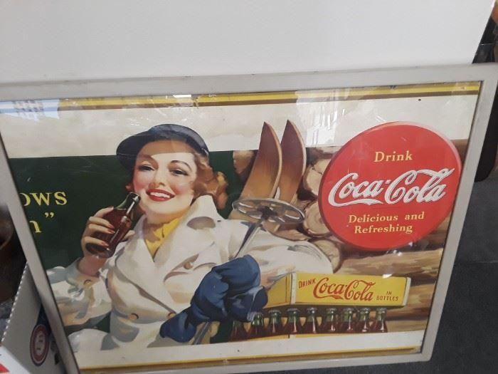 Coca Cola Billboard Poster