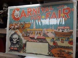 1940s Carnival Poster