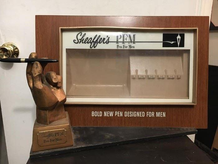 Sheaffer's Pen Display
