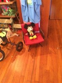 Cute chair. Disney mouse
