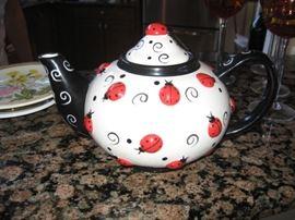 Ladybug Tea Pot