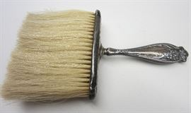 Art Nouveau sterling hat brush