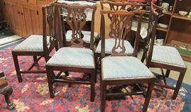 Set of 18th century chairs