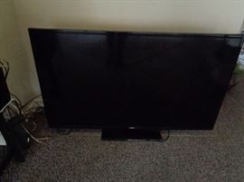 large flat screen