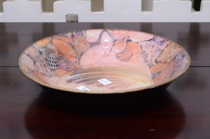 Art bowl seashell motif Jered Holms $20