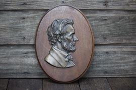Abraham Lincoln Plaque