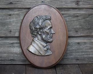 Abraham Lincoln Plaque