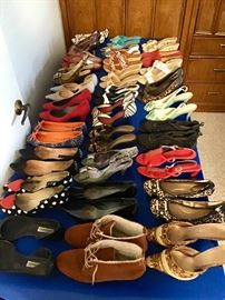 Women's shoes- 100's of pairs!!