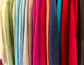 Cashmere for days! As of late Friday morning, we have 30 100% cashmere sweaters available!