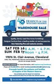 2018 Warehouse Sale Flier OP
