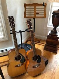 Guitars, Music Stand
