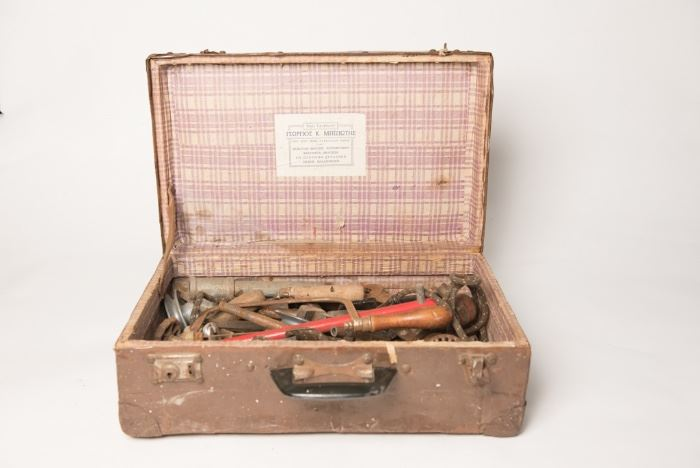Vintage tools with Russian Case