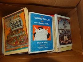 Large lot of non fiction kids books..