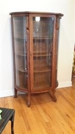 Beautiful antique curio with lock and key.