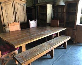Rustic Dining Room Set!