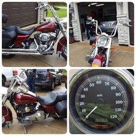 2001 Harley Davidson Road King. 4600 miles.